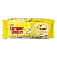 ‏‪Croley Foods Sunflower Crackers Cheese Onion Pack of 10 - 18 gm‬‏