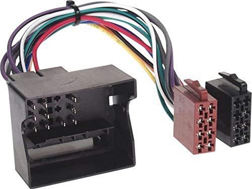 Baseline 70013 Connect Radio-Adapterkabel, Most,Quadlock auf ISO Spannung Plus 4 Lautsprecher ohne CAN-Bus Mehrfarbig