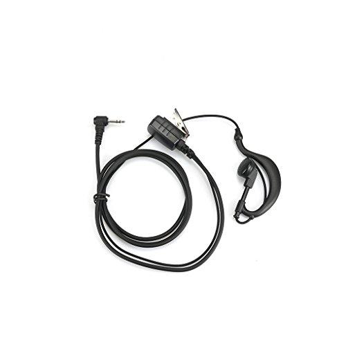 Gankmachine XQF G-Form Headset Big PTT Mic für Motorola Funk TLKR T3 T4 T5 T6 T7 Cobra MT200 T6000 XTL446 SX500 Walkie Talkie -
