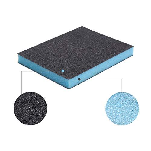 Yuikled 5pcs Carborundum Schwämme Töpfe Reinigungspads Carborundum Pinsel Rost Sand Wäscher für die Küchenreinigung Pads (Wäscher Kommerzielle)