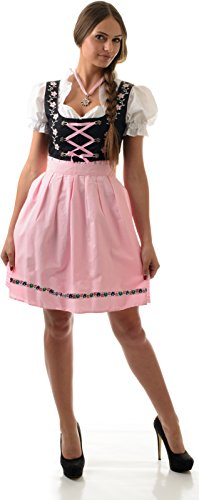 Almwerk Dirndl Mascha 3-tlg. Größe 34 Farbe Pink