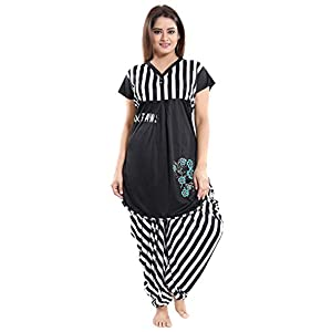 TUCUTE Women Sarina Printed Top & Dhoti Style Bottom Set