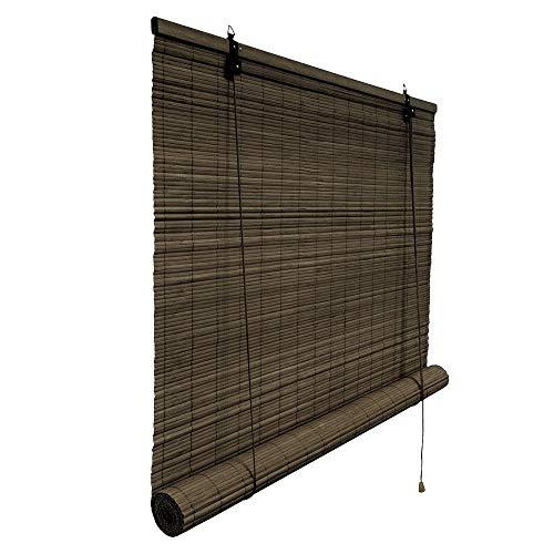 Victoria M.. - Persiana de bambú para Interiores, Color marrón Oscuro, tamaño: 150 x 220 cm
