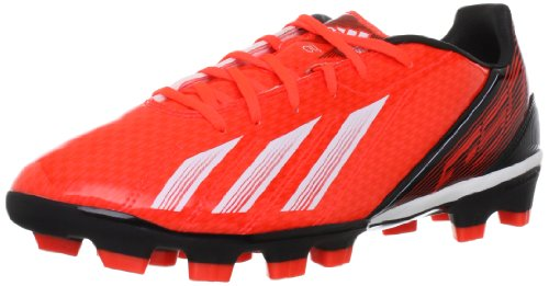 adidas F10 Traxion HG, Chaussures de football homme Rouge - Rot (infrared / running white ftw / black 1)