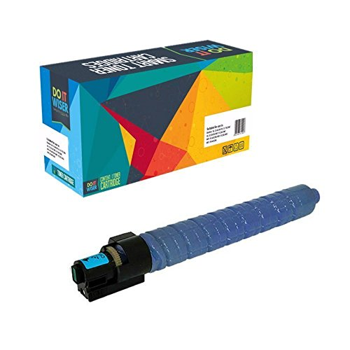Doitwiser ® kompatible Cyan Tonerpatrone für Ricoh Aficio MP C4503 SP MP C4503 ASP MP C5503SP MP C5503 ASP (841856) hohe Kapazität 22.500 Seiten