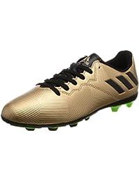 adidas MESSI 16.4 FxG J - Botas de fútbol Línea Messipara niños, Bronce - (COBMET/NEGBAS/VERSOL), 35