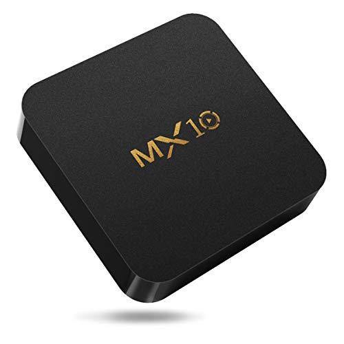 MX10 TV BOX,Android 8.1,RAM 4G+ROM 32G,Soporte...