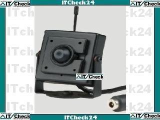 901T-Kx Farb Funk CCD digitale Kamera mit Video und Audio übertragung 2,4 GHZ - Funkkanal ist fest installiert - hier nur die Kamera mit Netzteil zur Systemerweiterung von KesCom® Kx Audio
