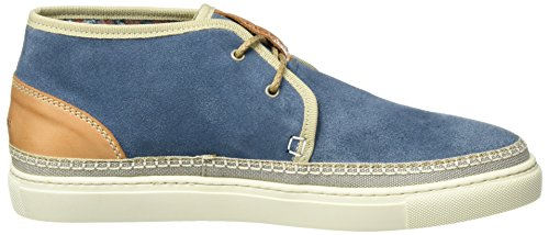 Tommy Hilfiger H2385ood 2b, Sneakers Hautes Homme Bleu (Jeans 013)