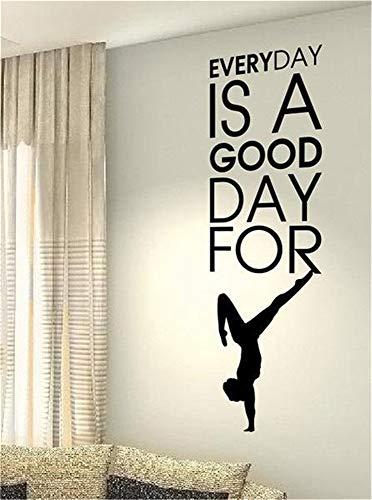 stickers muraux enfants spiderman Chaque jour est un bon jour pour le yoga