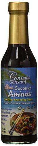 Coconut Secret Coconut Aminos, Soja-freie Gewürz Sauce, Doppelpack (2 x 237 ml)