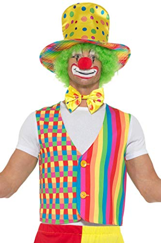 Smiffys SMIFFY 'S 47351lxl Big Top Clown-Set, Herren, Mehrfarbig, large-x-large, 42-122cm