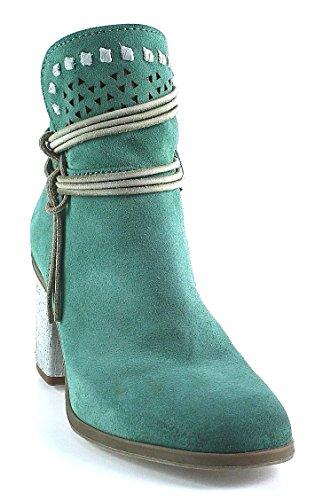 Mjus Stiefelette - grün smeraldo Grün
