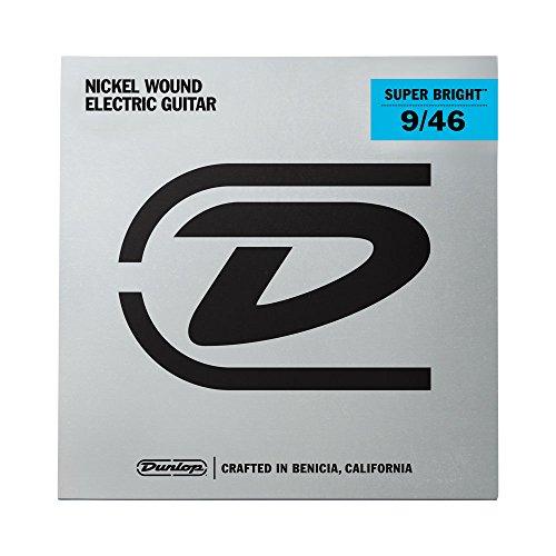 Dunlop desbn0946Super Hell Gitarre Saiten, Light/Heavy.009-.046, 6Saiten/Set (Heavy Saiten, E-gitarre)