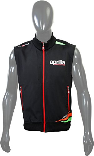 aprilia softshell jacket without sleeve (black and red) Aprilia Softshell Jacket without Sleeve (Black and Red) 41dW83DBvUL