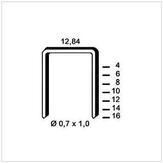 Alsafix 6A-141 10,000 A-14 Galvanised Staples 12.84 x 14 x Diameter 0.7 x 1 mm