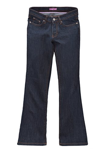 Oklahoma Regular Fit 5-Pocket-Stretch-Jeans Damen A608RI Dunkelblau