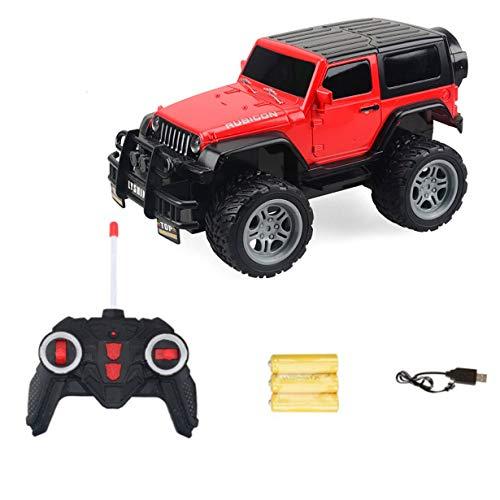 MoFun-6062-2 1/18 2WD Infrarot-Fernbedienung Hochgeschwindigkeitsbuggy RC Auto Fahrzeug Geländebuggy RTR Spielzeug für Kinder Geschenk (rot) by camellia