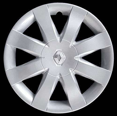 Generico Renault New Clio V Quattro (4) COPRICERCHIO BORCHIA 5751/5 Diam 15' dal 2008