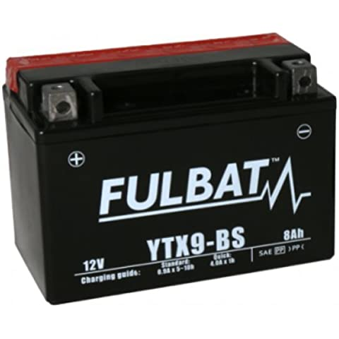 NX - Batería moto YTX9-BS / GTX9-BS 12V 8Ah - Batería(s)