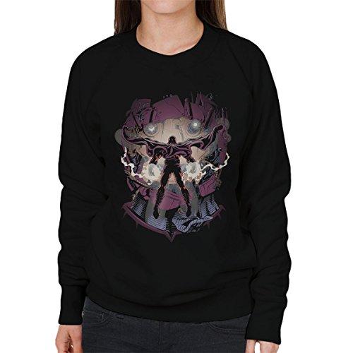 X Men Magneto Magnetic Confrontation Women's Sweatshirt