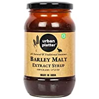 Urban Platter Barley Malt Extract Syrup, 500g / 17.6oz [All Natural, Premium Quality, Traditional Sweetener]