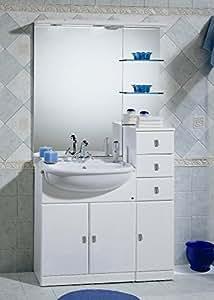 Mobile arredo bagno cm 70 30 con lavabo lavandino for Arredo bagno lavabo