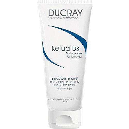 Ducray - Gel calmante detergente Kelual Ds, 200 ml