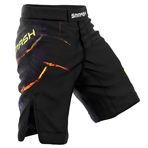 Smmash Shorts STONE Boxen Kampfsport MMA BJJ UFC - Größe S M L XL XXL (M)