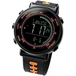[LAD WEATHER] Swiss Sensor Watches Digital Compass Altimeter Weather Forecast Barometer Thermometer Alarm Calendar Chronograph Stopwatch Timer