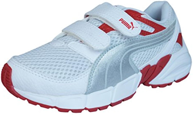Puma Axis Trainer Mesh V muchachos de los zapatos corrientes