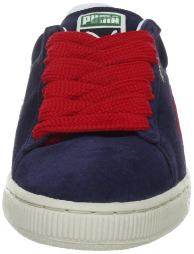 Puma Suede Classic+ , Baskets Basses Mixte Adulte Bleu (Peacoat-Ribbon)