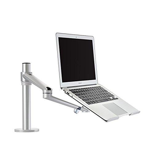 Thingy Club verstellbarer Schreibtischaufsatz, Halterung mit schwenkbarem Arm, voll beweglich, aus Aluminium
