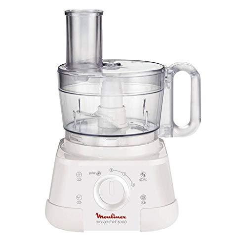 Moulinex FP5121 750W 2.2L Blanco - Robot de cocina (2,2 L, Blanco, Giratorio, Francia, 1 kg, 2 año(s))