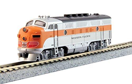 Spur N - Diesellok F3A Western Pacific Digital