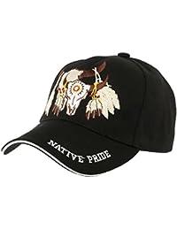 Casquette Biker Noir Native Pride - Mixte