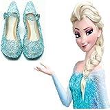 Zapatos Elsa Frozen Deluxe - 30