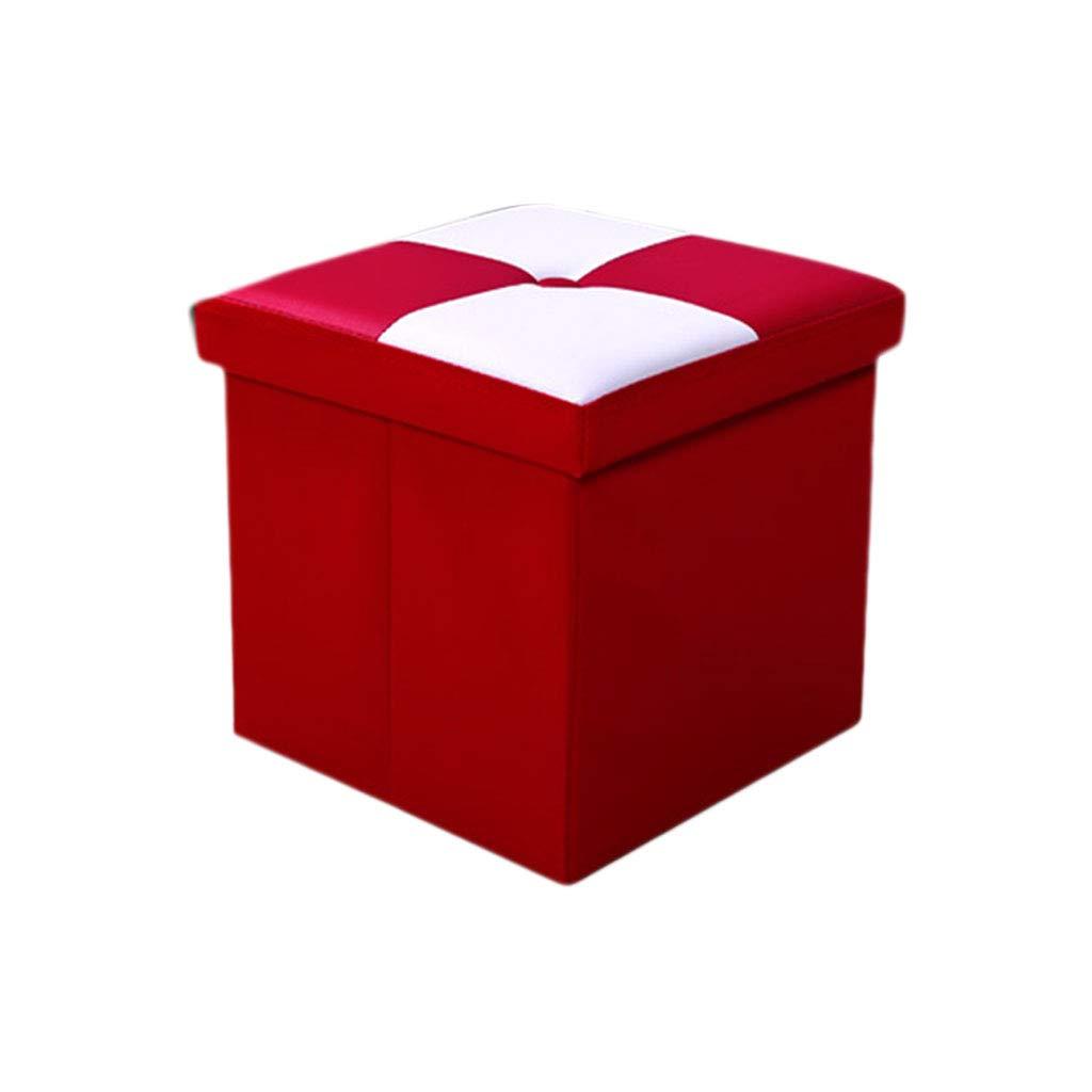 Sgabelli Da Salotto.Poggiapiedi Casa Pieghevole Pouf Da Picnic Sgabelli Da Giardino Sgabelli Da Salotto Sgabello Salvaspazio Sedia Da 100 Kg Xin Colore Red