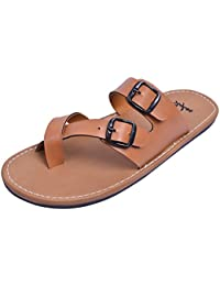 Stylos Men's 653 Leather Sandals