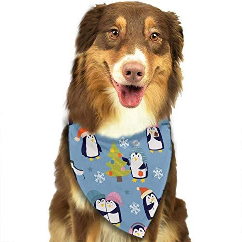 Hipiyoled Weihnachtspinguin-Muster stilvolle Nette lustige Party-Mädchen-Jungen-Hundebandana modern