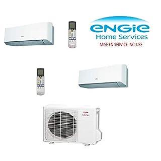 Klimaanlage BI SPLIT Atlantic Inverter AOYG 18 LAC2 für 1 Raum mit 20 m² und 1 bis 35 m² max. Service inklusive.