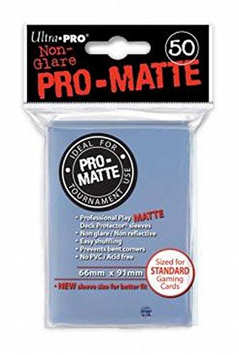 Ultra Pro 84490 - Deck-Schutz Standard Sleeves, Non-Glare, Clear Matte