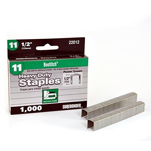 FPC CORPORATION - 1000-Pack #11 Heavy-Duty 1/2-Inch Staple