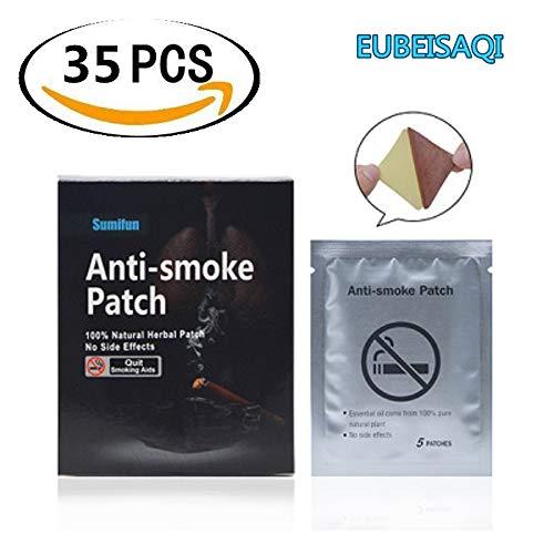 35PCS Natürlichen Inhaltsstoff Gesund Effektiv Beenden Aufhören Stop Smoking Patches Nikotinersatz Patches zur Rauchfrei hnung Einfach mit dem Rauchen Aufhören (Einfach Patch)