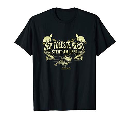 Angler T Shirt mit witzigem Spruch Der tollste Hecht gebraucht kaufen  Wird an jeden Ort in Deutschland