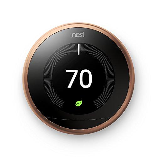 Termostato Wifi Nest compatible con Alexa de Amazon