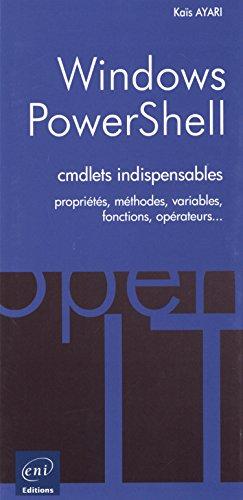 PowerShell - Les cmdlets indispensables par Kaïs AYARI