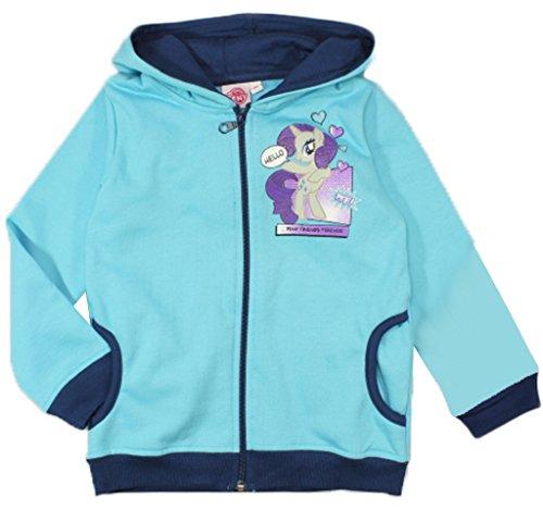 MLP Mädchen My Little Pony Sweatjacke Hoodie