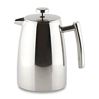 """Café Ole """"Stal Belmont"""" 3 Cup Double Walled Cafetiere Coffee Maker"""