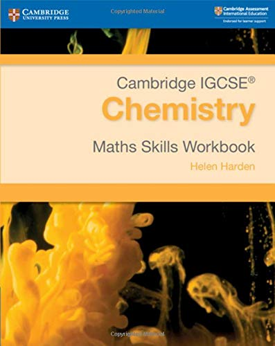 Cambridge IGCSE® Chemistry Maths Skills Workbook (Cambridge International IGCSE)